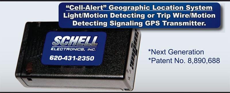 """THE SCHELL """"CELL-ALERT"""" GPS TRANSMITTER"""